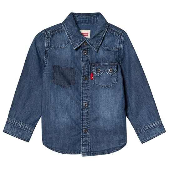 Levis Kids Blue Denim Shirt 46