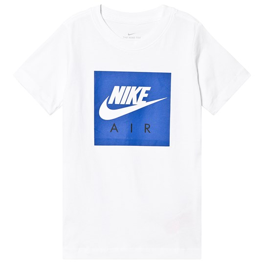 NIKE White Nike Air Box Tee 100