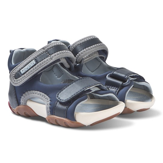 Camper Navy Water-Friendly Ous Sandals 001
