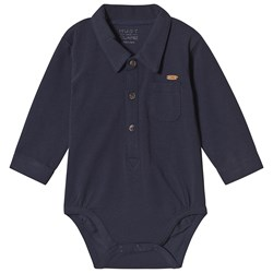 Hust&Claire Bror Baby Body Blue