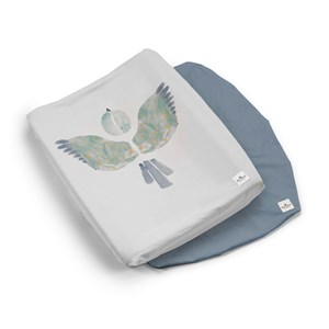 Image of Elodie 2-Pack Changing Pad Covers - Watercolor Wings One Size (1315723)