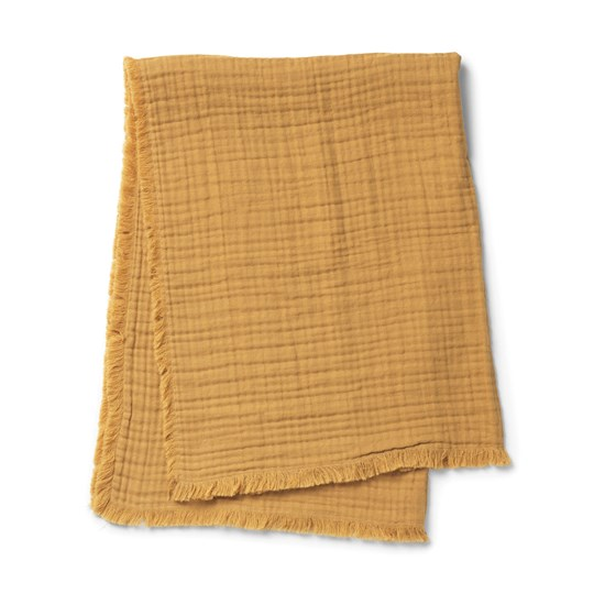 Elodie Details Soft Cotton Blanket - Gold Blanket - Gold
