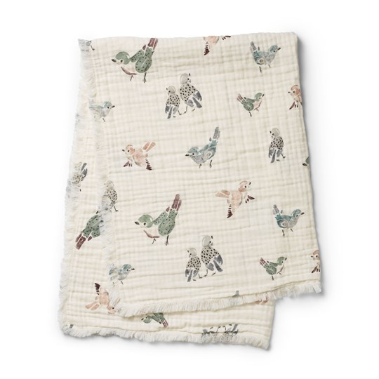 Elodie Details Soft Cotton Blanket - Feathered Friends Feathered Friends