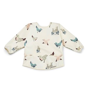 Image of Elodie Long Sleeve Baby Bib - Feathered Friends One Size (1315675)