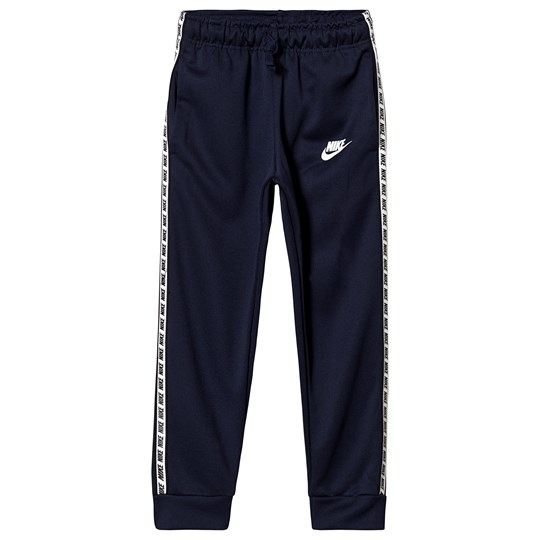 NIKE Navy Branded Poly Sweatpants 451