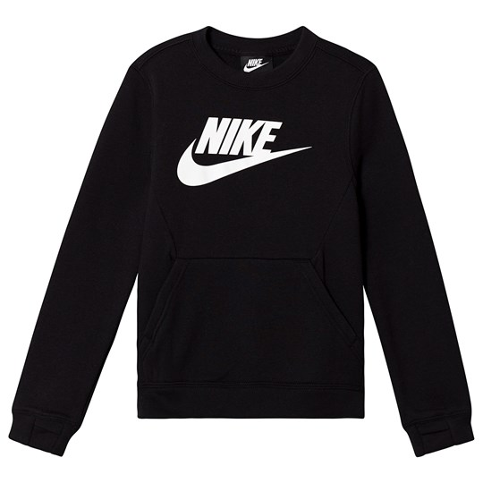NIKE Black Branded Fleece Crew Sweatshirt 010