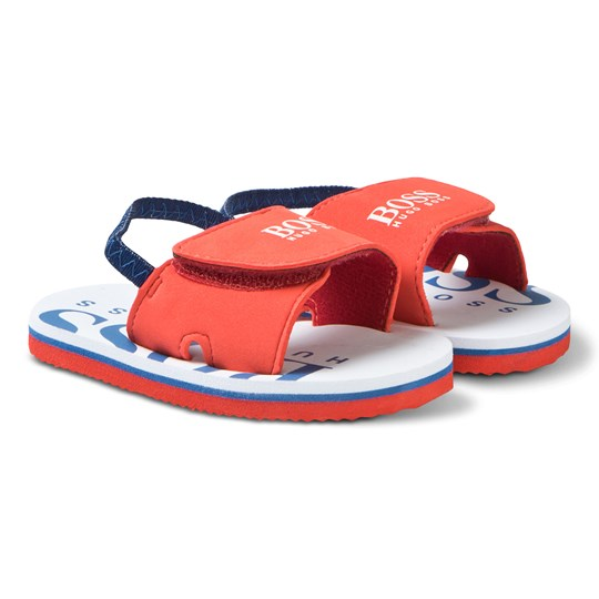 BOSS Red Branded Strap Sandals 982