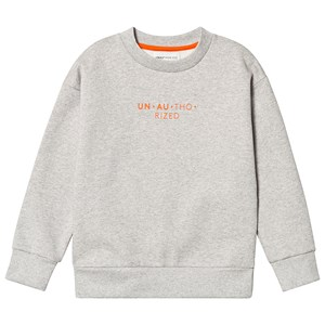 Image of Unauthorized Aksel Sweater Grey Melange 10år/140cm (3125263537)