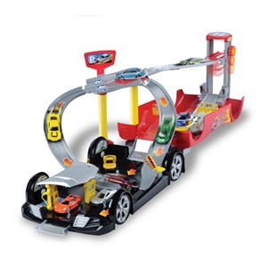 Image of Motormax Car Case Garage with 2 Cars 3 - 12 år (3125229349)