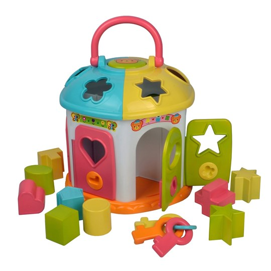 Redbox Shape Sorter House Blue