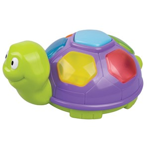 Image of Redbox Purple Turtle with Music and Lights 6 mdr. - 3 år (3125301209)