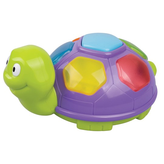 Redbox Purple Turtle with Music and Lights Purple