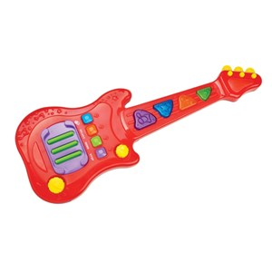 Image of Redbox Red Electronic Guitar One Size (840362)