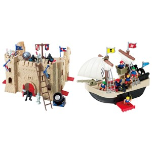 Image of Redbox Castle & Pirate Ship (3125359165)