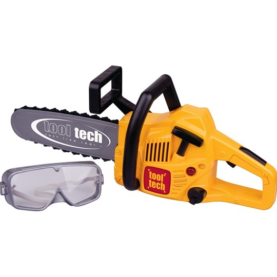 Redbox Chain Saw with Safety Goggles Yellow