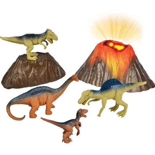 Redbox Playset Volcano 6 pcs Multi