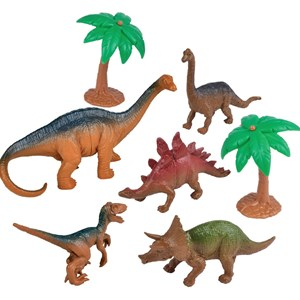 Image of Redbox Playset Dinosaur 7 pcs 3 - 7 år (3125338903)