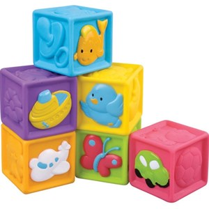 Image of Redbox Activity Toy Soft Cubes 6 - 12 months (3125338861)