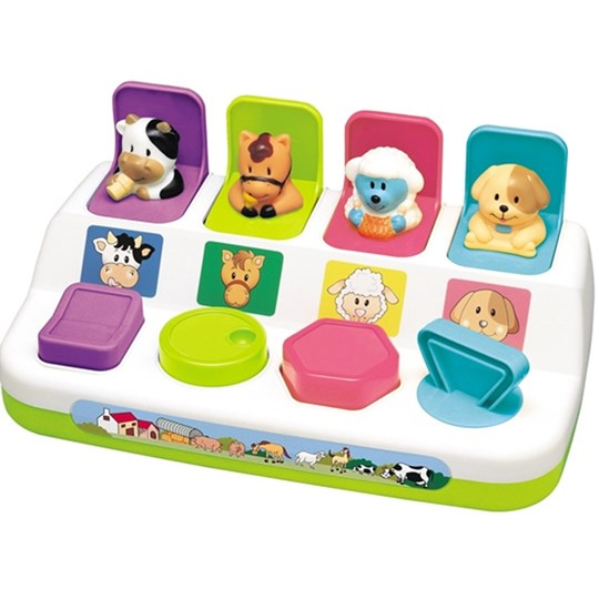 Redbox Activity Toy Pop-up Farm Animals Multi