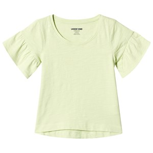 "Image of Lands"" End Ruffle Sleeve Top Gul 5-6 år' (1316406)"
