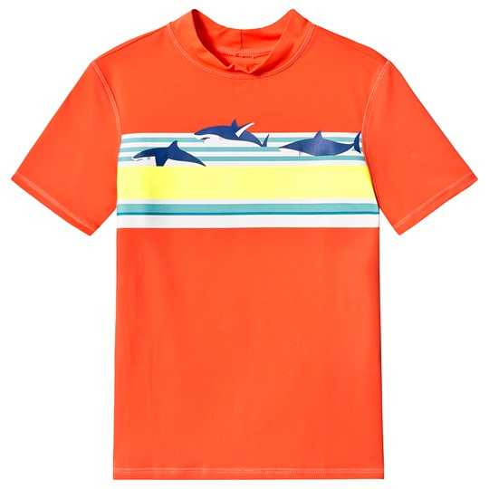 Lands' End Coral Shark Print Rash Vest IBS