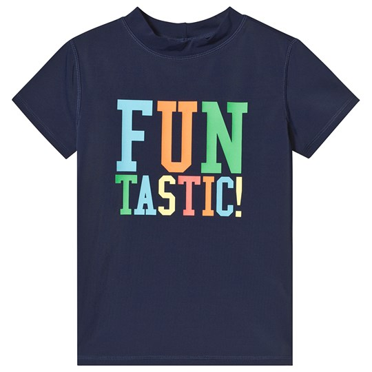 Lands' End Navy Fun Tastic Rash Vest IAG