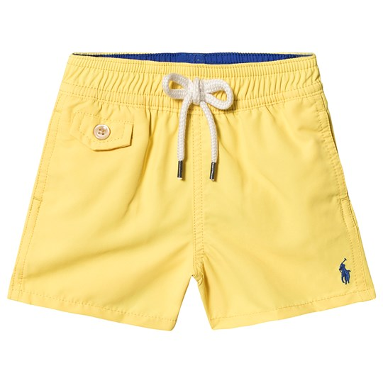 Ralph Lauren Yellow Swim Shorts with Small PP 002