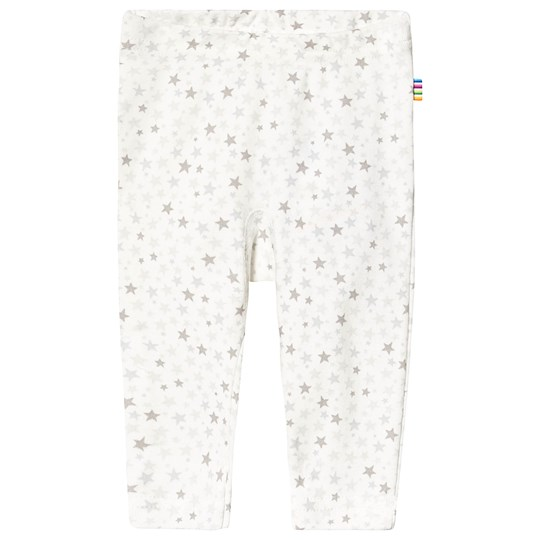 Joha Mini Star Leggings White/Grey Mini Stars