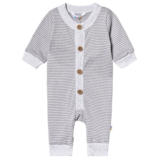 Joha Striped Knit One-Piece Grey Striped Knit Grey