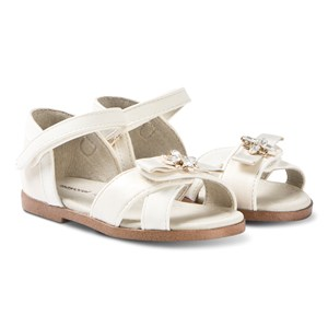Image of Mayoral Beige Bow Strap Sandals 24 (UK 7) (3125328457)