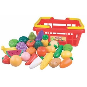 Image of Redbox Play Food Fruit & Vegetables 25 pcs 2 - 3 months (3125350625)
