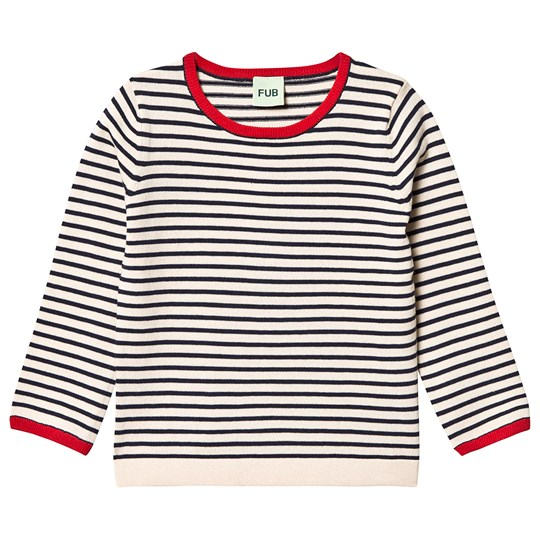 FUB Striped Blouse Ecru Navy ECRU NAVY