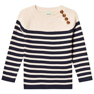 Image of FUB Sweater Ecru Navy 90 cm (1,5-2 år) (3125358647)