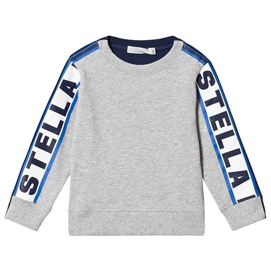 Stella McCartney Kids Grey Stella Taped Sweatshirt 1461 - Thunder