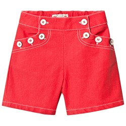 Bonpoint Sailor Shorts Red