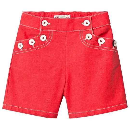 Bonpoint Sailor Shorts Red 051A