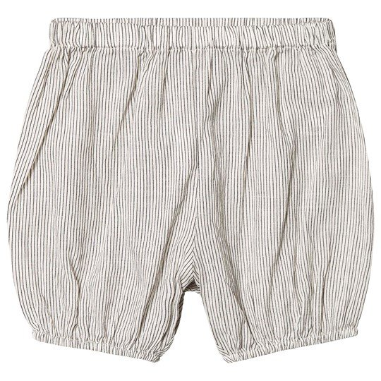 Bonpoint Stripe Shorts White/Blue 299A