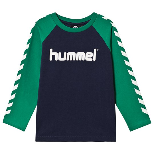 Hummel Long Sleeve Tee Pepper Green PEPPER GREEN