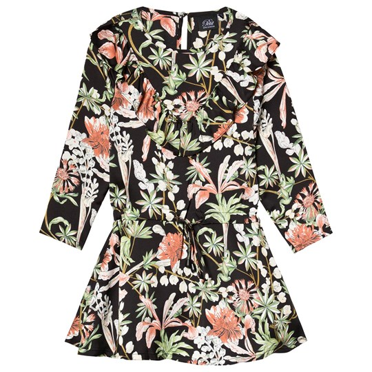 45e8ede618f Petit by Sofie Schnoor Flower Dress Black AOP Black print