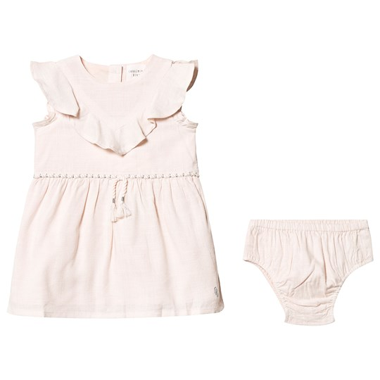 Carrément Beau Pink Woven Dress and Bloomers 45B