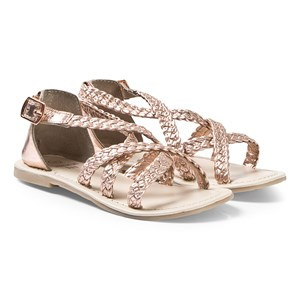 Image of Carrément Beau Bronze Strappy Sandals 28 (UK 10) (3125239977)