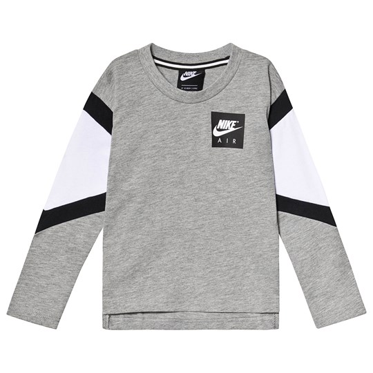 NIKE Air Long Sleeve Tee Grey/Black 042