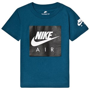 Image of NIKE Air Logo Tee Blå 5-6 years (3125305107)