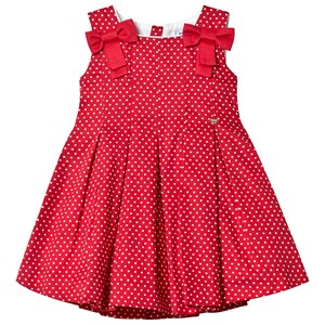 Image of Mayoral Red Polka Dot Dress 7 years (3125313801)