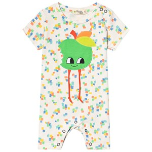 Image of The Bonnie Mob Apple Romper Sand 12-18 mdr (3125341817)