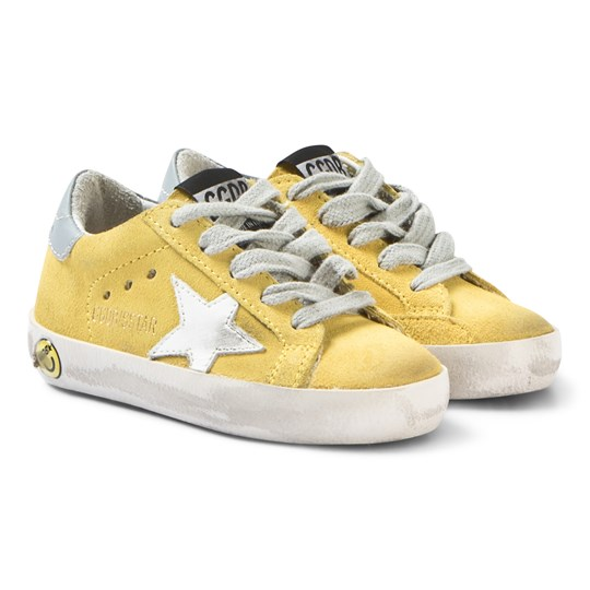 Golden Goose Superstar Sneakers i Gul YELLOW SUN-WHITE STAR