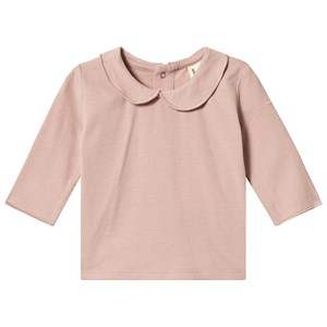 Image of Gray Label Baby Collar Tee Vintage Pink 1-3 mdr (3125240807)
