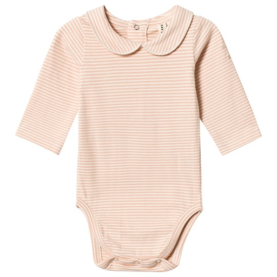 Gray Label Collared Baby Body Pop/Cream Stripe Pop/Cream Stripe