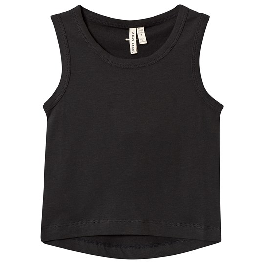 Gray Label Classic Tank Top Nearly Black Nearly Black