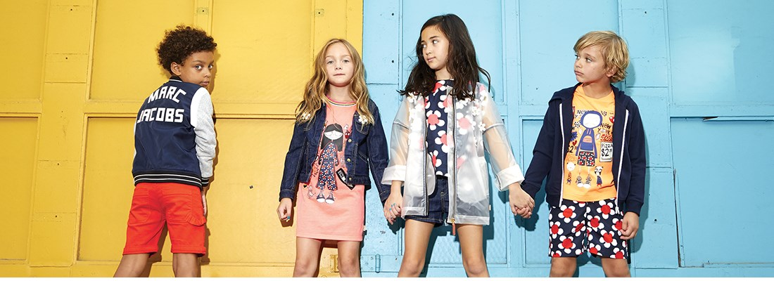 336bf80cfa Little Marc Jacobs creates children's clothes for tomorrow's trendsetters  and fashionista. The brand has a direct relationship with Marc Jacobs and  Marc by ...